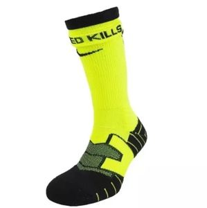 Nike Vapor Football Socks, Neon Yellow Volt